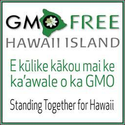 GMO-Free Hawaii, a well-funded organization opposed to biotechnology (need permission)